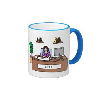 CEO - customizable Coffee Mugs
