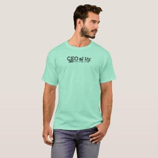 CEO of Me Mint / Black Logo Tshirt