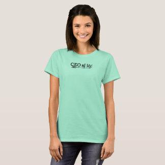 CEO of Me Mint / Black Logo Tshirt Women's Fit