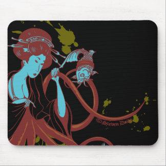 Cephalopod Sushi Mouse Pad
