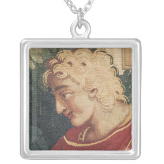Cephalus and Procris, detail of head of Silver Plated Necklace