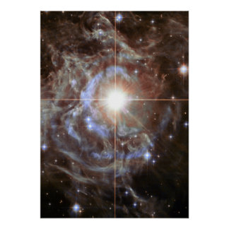 Cepheid Variable Star RS Puppis Poster