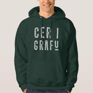 Cer I Grafu, Funny Welsh Slang Men's Hoodie