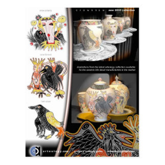 ceramic arteology presentation 1 postcard