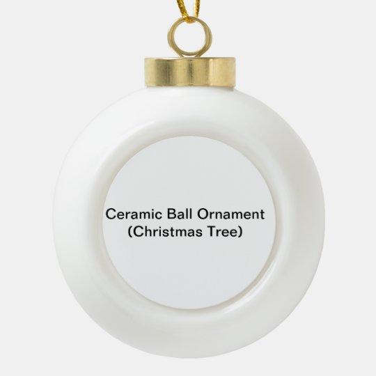 Ceramic Ball Decoration