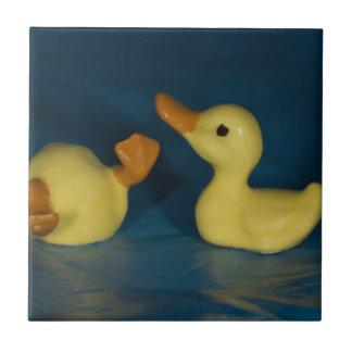 Ceramic Duck Small Square Tile