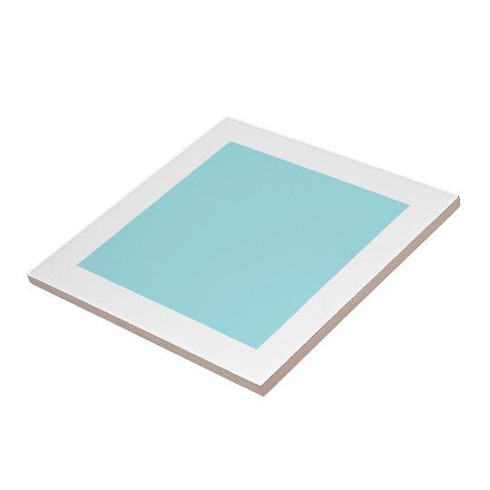 Ceramic Powder Blue Tile by Janz 4.25x4.25
