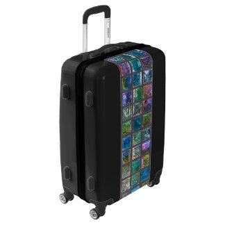 Ceramic Shiny Multicolor Elegant Tiles Luggage