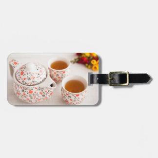 Ceramic Tea Set Bag Tag