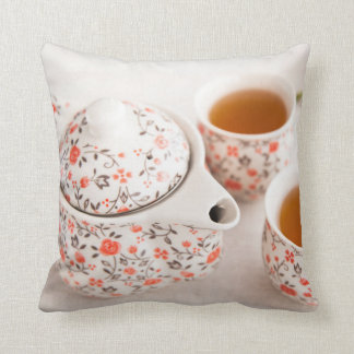 Ceramic Tea Set Cushion