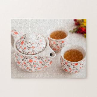 Ceramic Tea Set Jigsaw Puzzle