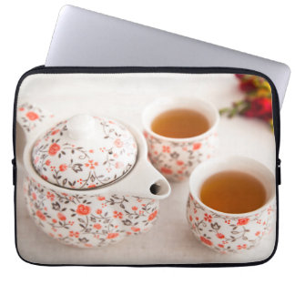 Ceramic Tea Set Laptop Sleeve