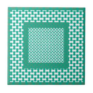 Emerald Green Decorative Ceramic Tiles Zazzle Co Uk