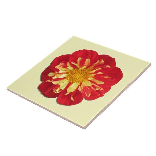 Ceramic Tile - StarSister Dahlia