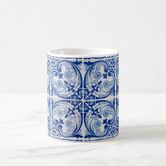 Ceramic tiles basic white mug