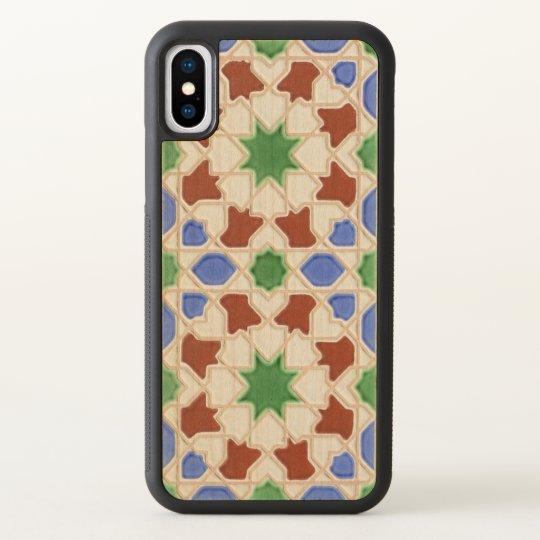 Ceramic tiles from Granada iPhone X Case