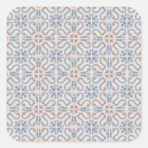 Ceramic tiles square stickers