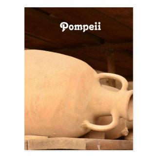 Ceramics in Pompeii Postcard