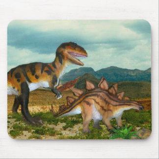 Ceratosaurus and Stegosaurus mousepad
