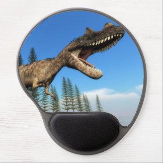 Ceratosaurus dinosaur at the shoreline gel mouse pad
