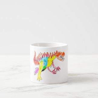 Ceratosaurus Espresso Cup