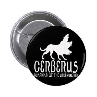 Cerberus Pinback Button