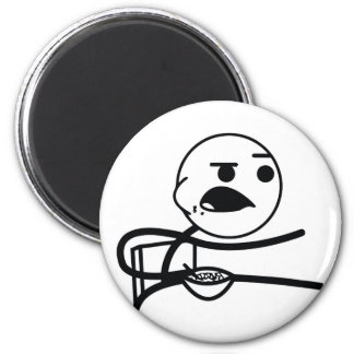Cereal Guy 6 Cm Round Magnet