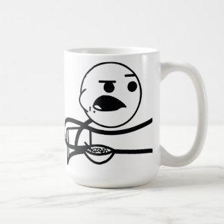 Cereal Guy Basic White Mug