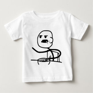 Cereal Guy Meme Baby T-Shirt
