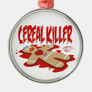 Cereal Killer Christmas Ornament