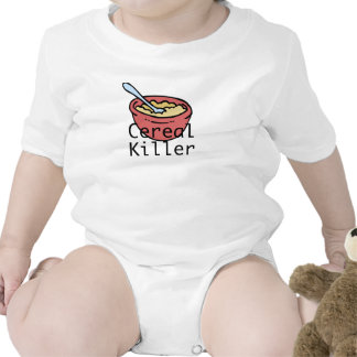 Cereal Killer Baby Bodysuits