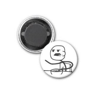 Cereal Meme Guy 3 Cm Round Magnet