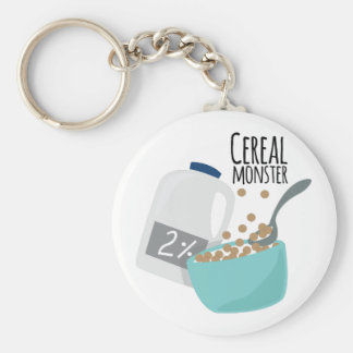 Cereal Monster Key Chain
