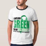 Cerebral Palsy Green for Son Tshirts