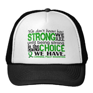 Cerebral Palsy How Strong We Are Cap