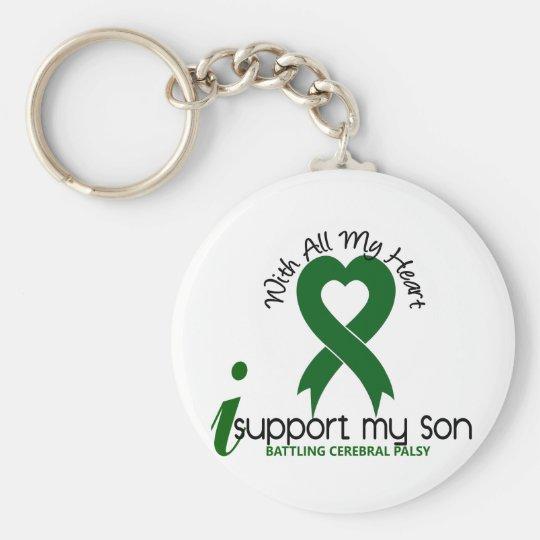 Cerebral Palsy I Support My Son Key Ring