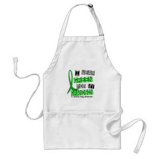 Cerebral Palsy I Wear Green For My Grandson 37 Aprons