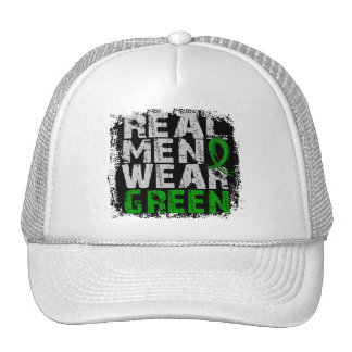 Cerebral Palsy Real Men Wear Green Mesh Hat