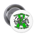 Cerebral Palsy Survivor By Day Ninja By Night Badge