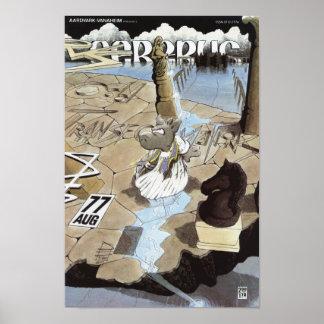 Cerebus issue #77 cover print