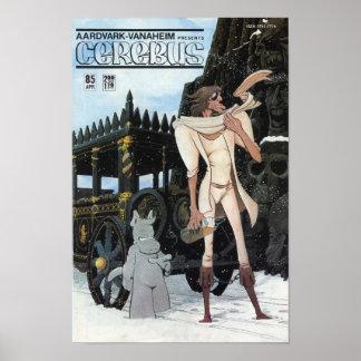 Cerebus issue #85 cover print