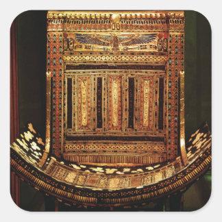 Ceremonial Chair of Tutankhamun Stickers