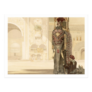 Ceremonial Elephant, from 'The Jungle Book' by Rud Postcard
