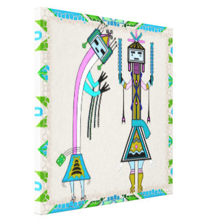 Ceremonial Stretched Canvas Prints
