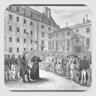 Ceremony before the departure of the convicts sticker