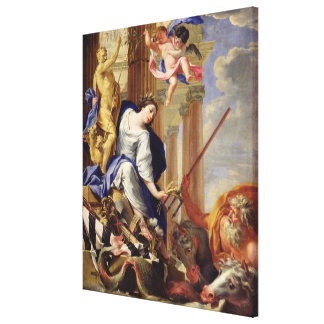 Ceres Vanquishing the Attributes of War Canvas Print