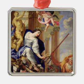 Ceres Vanquishing the Attributes of War Christmas Ornament
