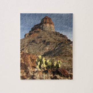 Cerro Castellan at Sunset Puzzle