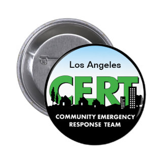 CERT Button-customize 6 Cm Round Badge