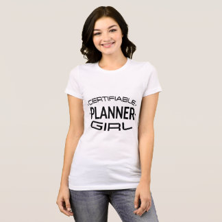 Certifiable Planner Girl Shirt (Diamonds)